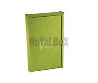 Laminated box with hot stamping