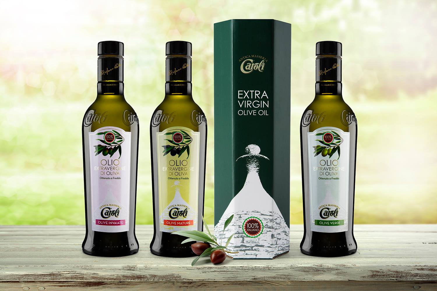 An Extra Quality Packaging For An Extra Virgin Olive Oil